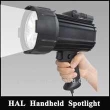 Halogen HID LED Holding Portable hunting searchlights,professional fishing boat rechargeable lights