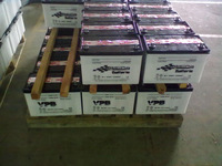 12V145AH used car and truck batteries for sale