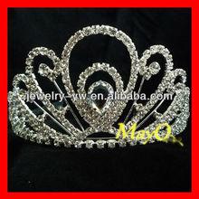 Beauty diamond bridal tiara, pageant crown for sale