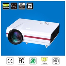 2014 newest fashion clear projection video easy take led projector