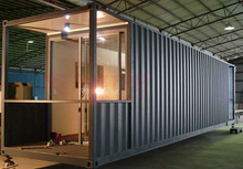 modern prefabricated house container dormitory for student living