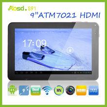 "2014 Latest 9"" tab atm7029 dual core tablet pc 8gb hdmi S91."