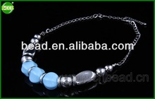 2014 hot fashion necklaces jewelry glow in dark silicon necklace