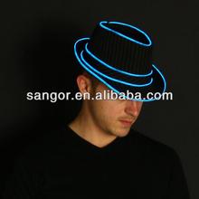 Custom Your Own Light Up Fedora Hat