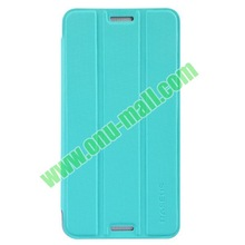 2014 New Arrival 3 Folio Style Baseus Leather Cover for HTC One Max Stand Protective Case
