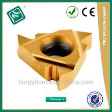 Partial Profile 60 Degrees Threading Tungsten Carbide Inserts