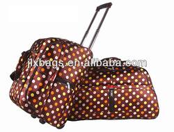 fashion trolley bag travel bag custom made in China
