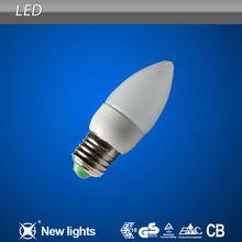 E14E27 LED Candle Lamp Atomized/Transparent (plastic)
