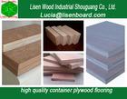 Container parts floorboard-container wood floor 1160x2400x28mm