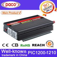 12v ups inverter with battery charger 1200watt used for 12v/24v lead acid agm,gel,cal batteries