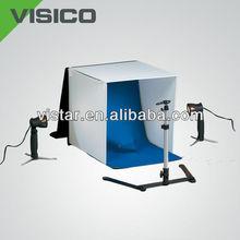 foto studio luce kit tenda 40cm con quattro infinito sfondi e integrale rigido custodia per la fotografia del prodotto