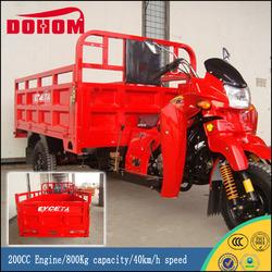 China Car Manufacturer 200CC Engine Lifan Three Wheel Motorcycle