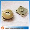 Bag accessory magnetic snaps metal parts for handbag handles