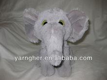 12cm big eyes soft elephant toys