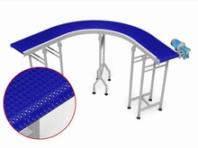 Modular Belt - Curved Conveyor - 90 degrees - Stainless Steel