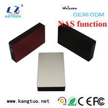 factory direct supply nas storage case box, ethernet hdd enclosure with 5Gb/s, hdd network storage devices