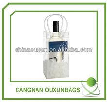 pvc ice bag for wine