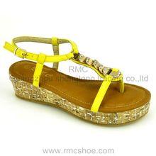 fashion sandal 2014 fashionable platform shoes