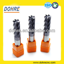 DOHRE Tungsten Carbide 6 Flutes Finishing End Mill