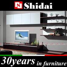 E-41 lcd tv wall unit designs / design led tv unit / high gloss tv unit