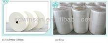High breathability 35gsn non woven spunlace fabric