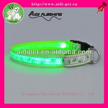 LED flashing sporting dog collar