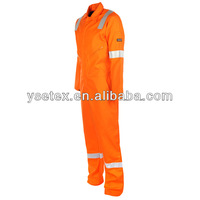 High visibility fire retardant work clothing for industry workers