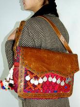 ethnic tribal banjara shoulder bag leather shoulder bag