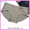 good quality soft nylon brief-shape women no panties photos