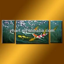 Hot Sell Handmade Home Decor Animal Painting Of Fish
