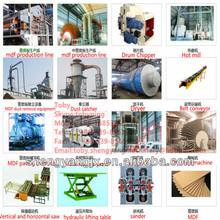 MDF board equipment/MDF manufacturing machinery/MDF producing machinery
