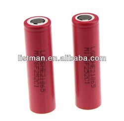 35A High drain 18650 Battery for E-cigarette LG 18650HE2 2500mAh