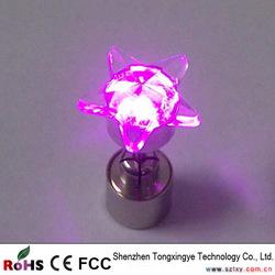 CE ROHS Dangler, LED Earrings Dangler, LED Light Up Earrings