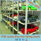 China Triple Stacker Smart Parking Lift System