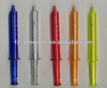 Medical syringe shape ball pen for promotion / syringe shape ball pen