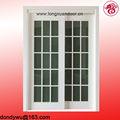 Dubai estable de madera maciza puertas con el vidrio francés de la puerta