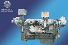 EuroI Euro II Emission 110KW-220KW Weichai Marine Diesel Engine with Advance/Fada/Fenjin Gearbox