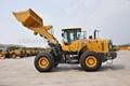 Sdlg 6 toneladas cargadora de ruedas, cargador frontal, zl60, lg968l lg968