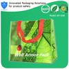 Portable reusable plastic shopping online bag