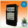 Compatible inkjet cartridges PG210 for Canon printers