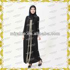MF19631 latest fashion modeling design abaya.