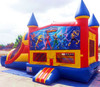 spiderman war inflatable bouncy castle slide (Immanuel)