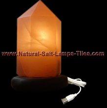 MINI LED CRYSTAL SALT LAMP FOR PC LAPTOP USB POWERED
