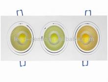 9 watt led spot Light Dimmable option,c/w12vDC Driver