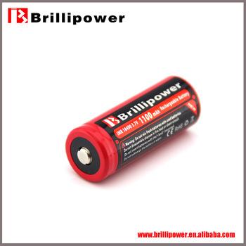 Brillipower 18490 rechargeable storage lithium batteries/high power cylinder storage lithium batteries