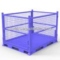 Consignés en métal pliable conteneur pour l'industrie de recyclage