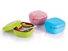 plastic squre double layer lunch box