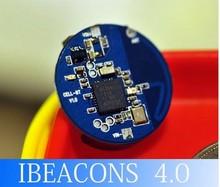 ibeacon module upgraded via Bluetooth wireless