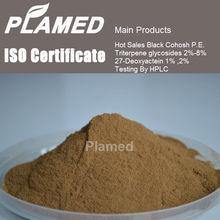 Super black cohosh extract (triterpene glycosides ) supplier,100% pure black cohosh extract (triterpene glycosides )