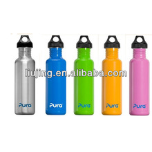 stainless water bottle with screw cap